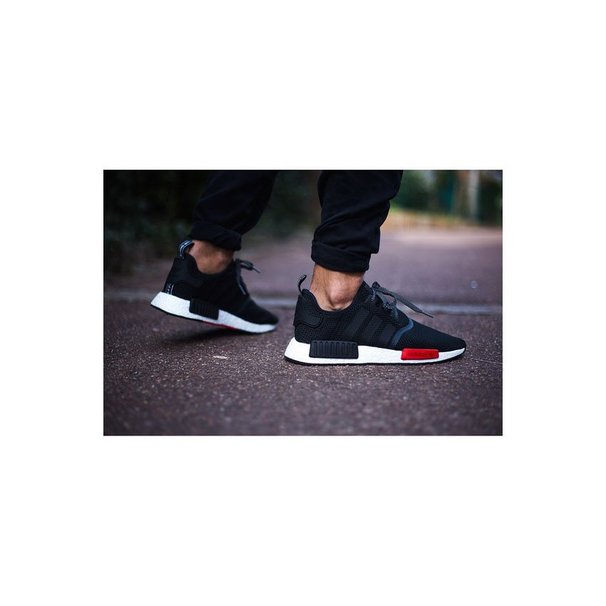 adidas nmd r1 baule esclusiva nero rosso - bianco - ultimo nmd rt