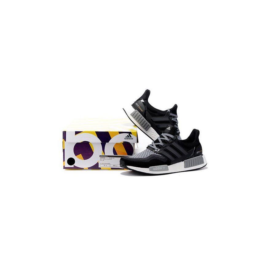 9ce2b002543 Adidas Originals NMD X Ultra Boost Mens Black Gray
