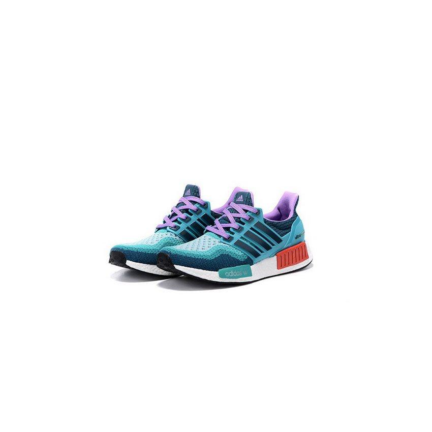 60f00b0df5726 Adidas Originals NMD X Ultra Boost Women Blue Green Purple ...
