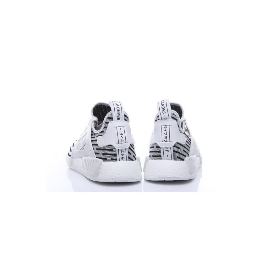 f0194d58016af Adidas Originals NMD XR1 Runner Primeknit Mens White Black