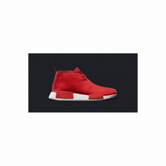 cheap for discount 271bb fac76 Adidas Nmd C1 Chukka Red White - Design NMD online