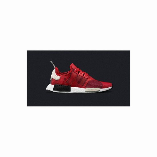 adidas NMD R1 solar red triple red