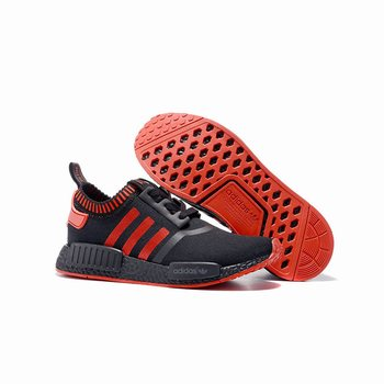 Adidas Mens Originals NMD Black Red Brands Sale