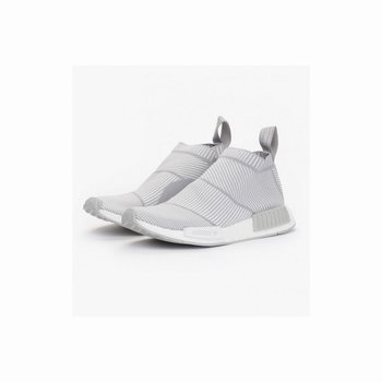 Adidas NMD City Sock CS1 Primeknit White Silver Solid Grey