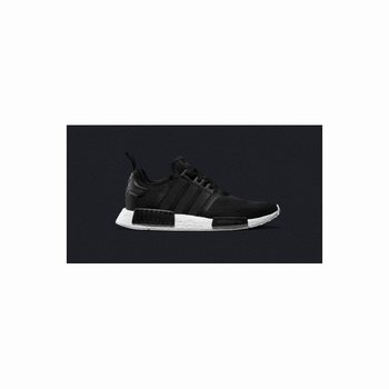Adidas Nmd R1 Runner PK All Black White