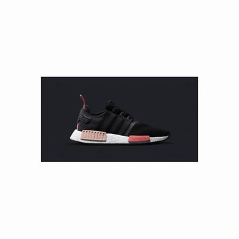 Adidas Nmd R1 Runner PK White Black