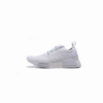 Adidas Originals NMD R1 Runner Primeknit Consortium All White
