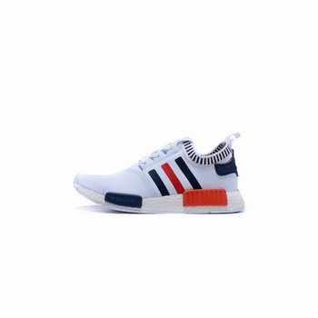 Adidas Originals NMD R1 Runner Primeknit Mens White/Blue/Red