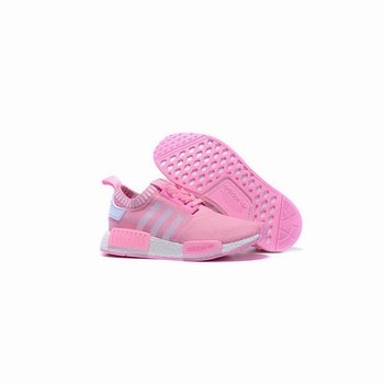 Adidas Originals NMD R1 Runner Primeknit Women Pink/White