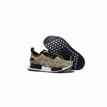 Adidas Originals NMD Runner Primeknit Black Yellow