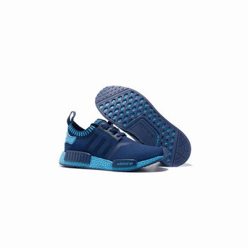 Adidas Originals NMD Runner Primeknit Navy Blue Light Blue