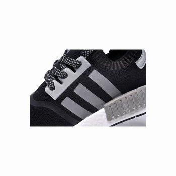 Adidas Originals NMD Runner Primeknit S79171 Mens Black/Silver