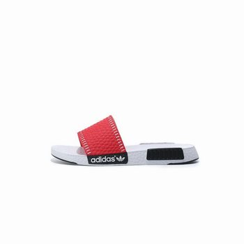 Adidas Originals NMD Slippers Primeknit Consortium Key City Red/White