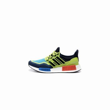 Adidas Originals NMD X Ultra Boost Mens Blue Fluorescent Green