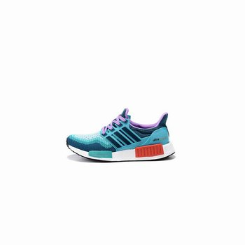 Adidas Originals NMD X Ultra Boost Women Blue Green Purple