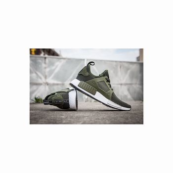 Adidas Originals NMD XR1 Olive Runner Primeknit Mens