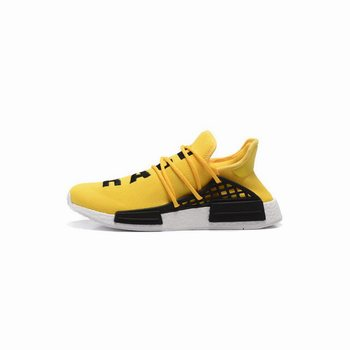 Adidas Pharrell Williams X NMD Human Race Collection Equipment Yellow Black Footwear White